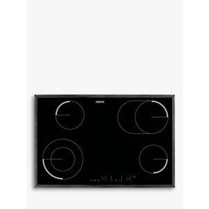 Zanussi Zev8646xba Ceramic Electric Hob, Black Glass