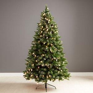 6ft Robert Dyas Pre-lit Buckingham Christmas Tree