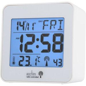 Acctim Kale Radio Controlled Lcd Alarm Clock  5012562716621