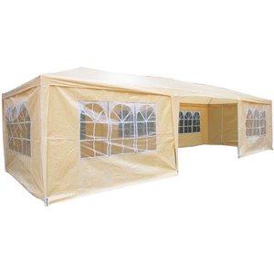 Airwave 9m X 3m Value Party Tent Gazebo - Beige Ex25020