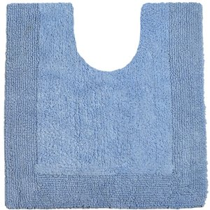 Allure Elegance Pedestal Mat - Baby Blue 5060466552791