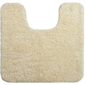 Allure Microfibre Pedestal Mat - Cream 5060210632557