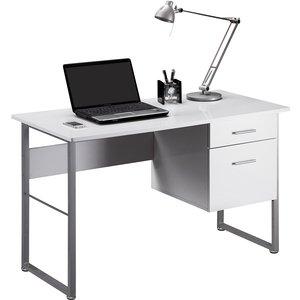 Alphason Cabrini Desk - White 5030752015637