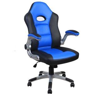 Alphason Le Mans Gaming Chair - Black/blue Aoc3311blu 5030752019895