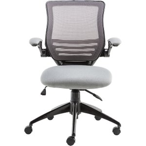 Alphason Stanford Mesh Operator Chair - Grey  5030752018911