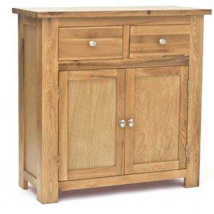 Ametis Lansdown Oak Compact Sideboard Ldnssb