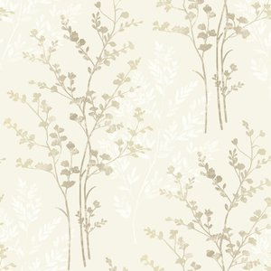 Arthouse Fern Wallpaper - Neutral