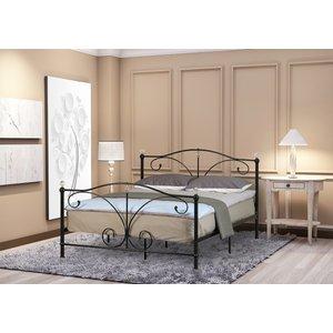 Ascari Single Bed Frame - Black  5057289855222