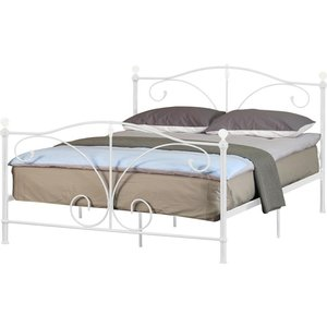 Ascari Single Bed Frame - White