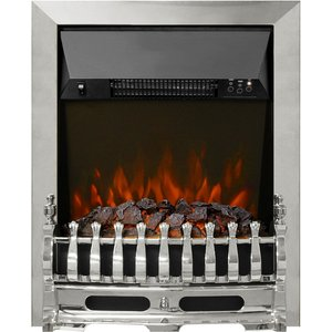 Be Modern Bayden 16 Electric Inset Electric Fire - Chrome 18287