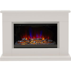 Be Modern Hansford 46 Electric Fireplace Suite - Pearlescent Cashmere 3727