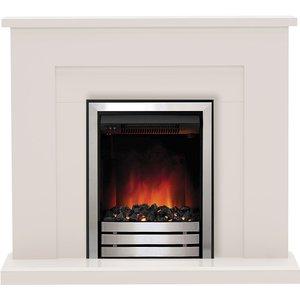 Be Modern Marden 42 Electric Fireplace Suite - Matt Cashmere 5487