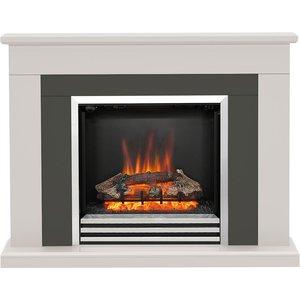 Be Modern Preston 46 Electric Fireplace Suite - Matt Cashmere 5371
