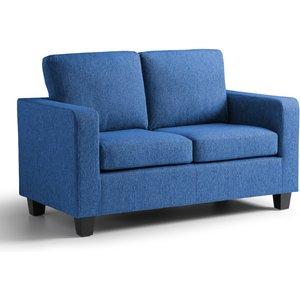 Berlin 2 Seater Fabric Sofa Tweed Blue 083 17 0081 027