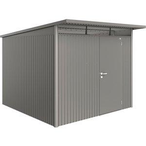 Biohort Avantgarde Metal Shed A7 Standard Door 8' 5'' X 9' 8'' - Quartz Grey 19070