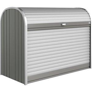 Biohort Storemax 5' X 2' Roller Shutter Storage Box 160 - Quartz Grey 70010