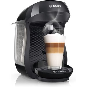 Bosch Tas1002gb Tassimo Happy Pod Coffee Machine - Black