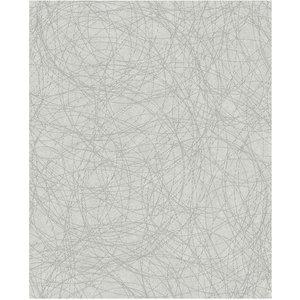 Boutique Twist Wallpaper - White / Silver 5011583320695