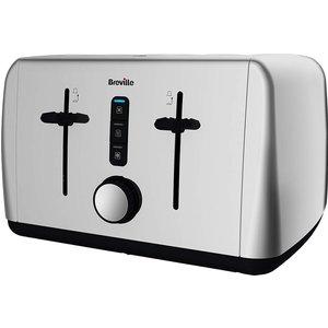 Breville Outline 4 Slice Toaster - Stainless Steel