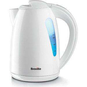 Breville Vkj556 3000-watt Plastic 1.5-litre Jug Kettle - White  5011773045032