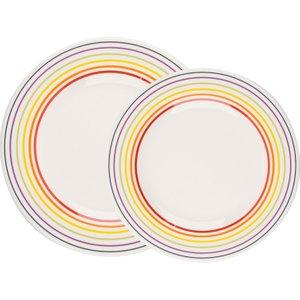 Bugatti Striped Dinner Plate Set - 8 Piece  5054061265163