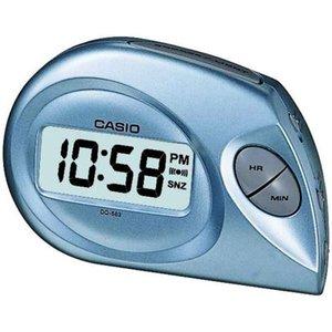 Casio Digital Beep Alarm Clock - Blue Dq583/2 4971850771272