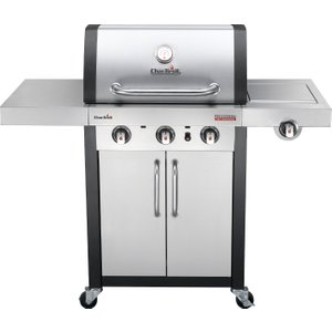 Char-broil Professional 3400s 3 Burner Gas Bbq - Stainless Steel  5709193881001