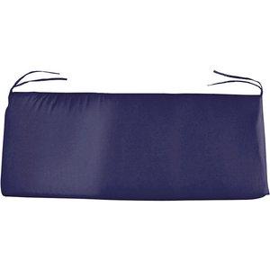 Charles Bentley Large Bench Seat Cushion - Navy Blue