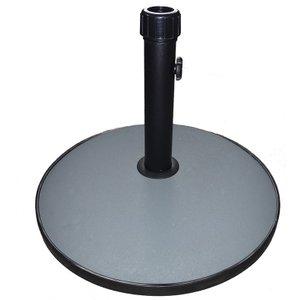 Charles Bentley Round Concrete Parasol Base - 15kg Gl/con.base/01 5014555071489