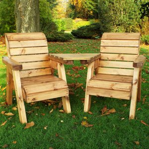 Charles Taylor Little Fellas Children's Twin Wooden Chair Companion Set - Angled Hb66