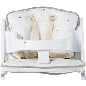 Childhome Baby Grow Chair Cushion Gold Dots Cus/chm/147327