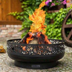 Cook King Boston 80cm Decorative Fire Bowl 111283