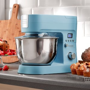 Cooks Professional G2881 1200w Stand Mixer - Blue 5017730354421