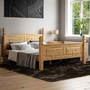 Corona King Size Bed High Foot End 333609