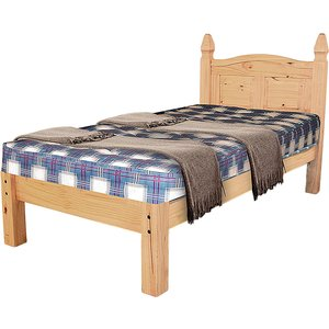 Corona King Size Bed Low Footend Corobed50l