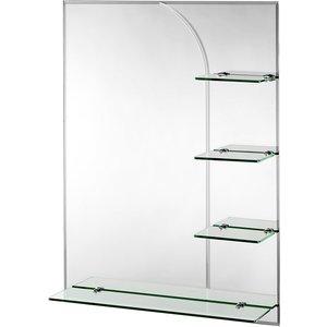 Croydex Bampton Rectangular Mirror With Shelves Mm700100rd