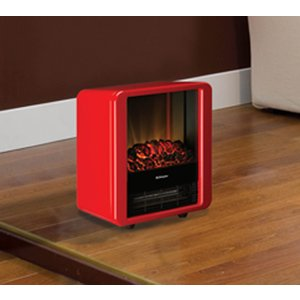 Dimplex 1.5kw Micro-fire Red Electric Fire Mcf15rred