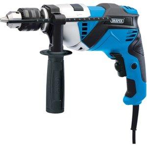 Draper 230v Hammer Drill 810w  5010559205004