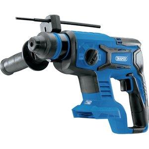 Draper D20 20v Brushless Sds+ Rotary Hammer Drill - Bare 55517 5010559555178