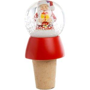 Eddingtons Santa Slow Globe Bottle Stopper  5060021848109