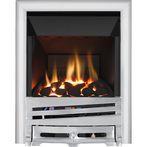 Focal Point Fires Mono High Efficiency Gas Fire - Chrome