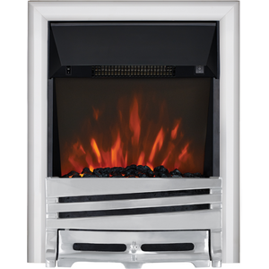 Focal Point Fires Mono Led Inset Electric Fire - Chrome