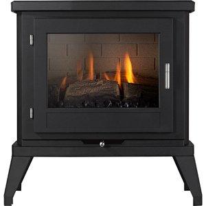 Focal Point Fires Svelvik Gas Stove - Black Fpfrd05026
