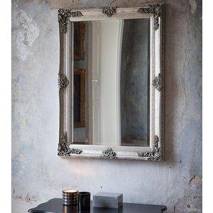 Gallery Abbey Rectangular Mirror - Silver  5055299438114