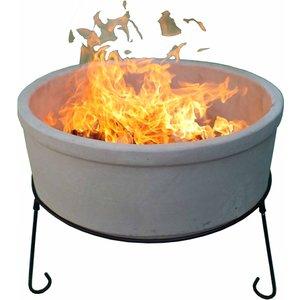 Gardeco Jumbo Atlas Afc Fire Bowl - Natural Clay  5031599044620