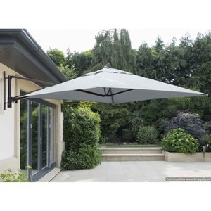 Garden Must Haves Wall Mounted Cantilever Parasol And Cover (base Not Included) - Grey 83455