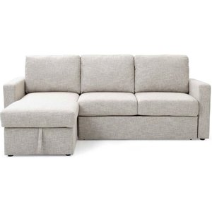 Gatsford Corner Sofa Bed With Storage Chaise - Natural  5029463306110