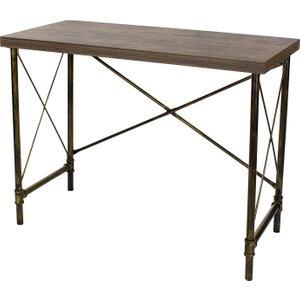 Gela Loft Home Study Desk With Pipe Design  5017839919705