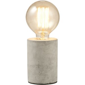 Gingersnap Mintage Concrete Table Lamp - Round Ctrnd0034