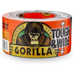 Gorilla Tape Tough & Wide Reinforced Duct Tape 73mm Wide - 27m Roll  10052427600308